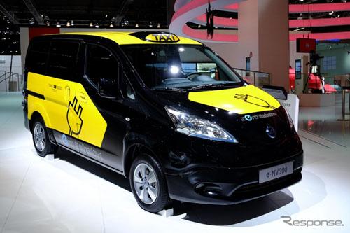 产14年量产NV200电动版 推向巴塞罗那出租车