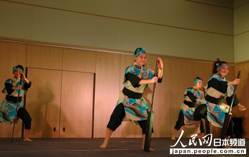 日本冲绳花族少女舞蹈团在北京举行公演【4