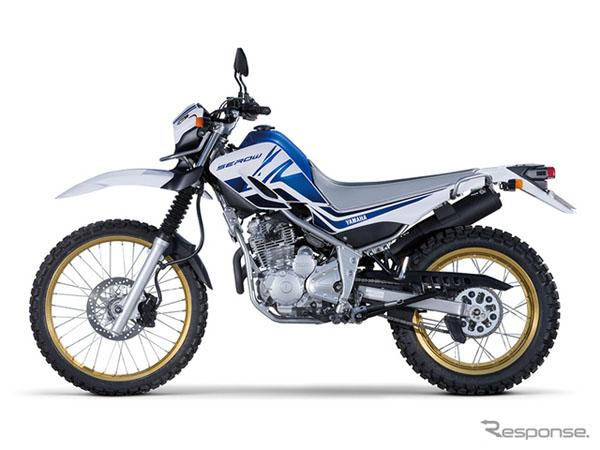 雅马哈再推限量版摩托车Serow 250 YSP 纪念
