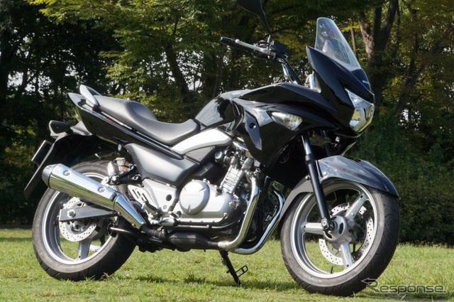 【型车魅影】图解铃木运动型摩托车GSR250S