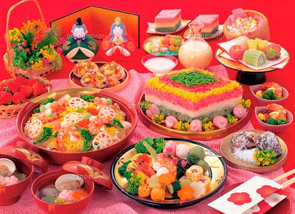 日本见闻寿司女儿节必吃的散糖水所包含的寓有腾龙美食城24附近美食吗幢北海图片