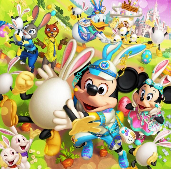 东京迪士尼公布复活节活动 《疯狂动物城》角色首次